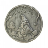 # 10017997 WELCOME GNOME STEPPING STONE