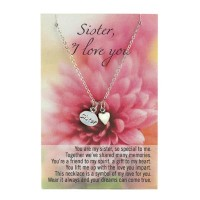 #14755 I LOVE YOU SISTER NECKLACE