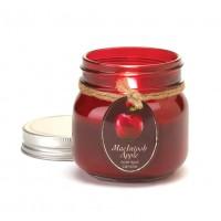 #10016254 - Macintosh Apple Mason Jar Candle