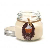 #10016257 - Vanilla Cupcake Mason Jar Candle