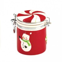 # 10016057 SNOWMAN SMALL CANDY JAR