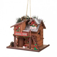 # 10016094  HOLIDAY GENERAL STORE BIRDHOUSE