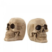 # 10017296 - SKULL BOOKENDS
