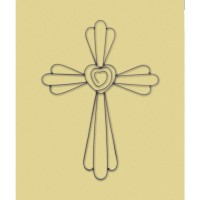 #10017504 FAITH AND LOVE WALL CROSS