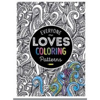 #10017817 - EVERYONE LOVES COLORING PATTERNS BOOK