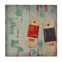 #10017389  SEAWORTHY OARS CANVAS WALL ART