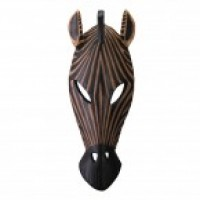 # 34758 - African Zebra Mask