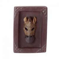# 35356 - Framed African Zebra Mask
