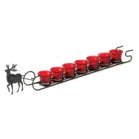 # 10015837  REINDEER SLEIGH CANDLE DISPLAY