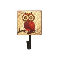 #10015403 RETRO BIG EYES OWL WALL HOOK