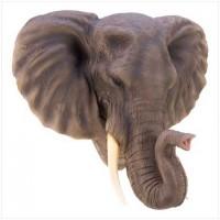 #12611 Noble Elephant Wall Décor