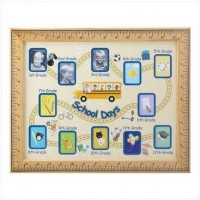 #13854 School Days Photo Frame