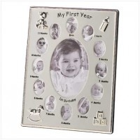 #39783 My First Year Photo Frame