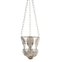 #10015339 ORNATE HANGING CANDLE LAMP