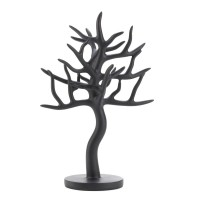 #10015365 BLACK TREE JEWELRY STAND
