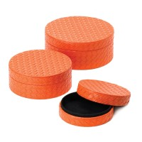 #10015407 ORANGE KEEPSAKE BOX TRIO