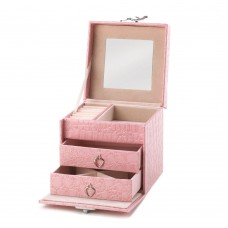 #10015415 STYLISH PINK JEWELRY BOX