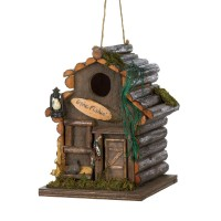 #10015475 FISHING CABIN BIRDHOUSE