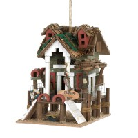 #10015476 FISHING PIER BIRDHOUSE