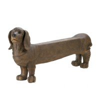 #10015481 DACHSHUND DOGGY BENCH