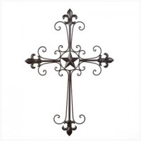 #10014576 Lone Star Wall Cross