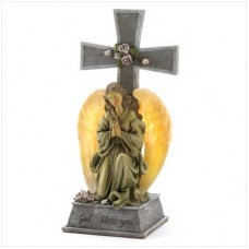 #10014643 Blessed Cross Solar Light