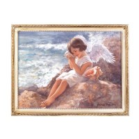 #14971 SEASIDE ANGEL WALL ART