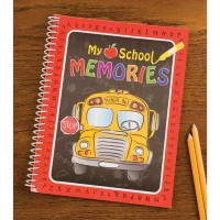 #T1005 SCHOOL MEMORIES BOOK