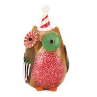#10015454 SWEET HOLIDAY OWL DECOR